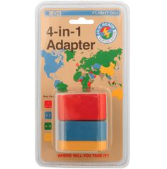 International Adapter 4 in 1 Business Travel Life
