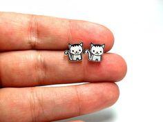 Lil' Kittens, Post Earrings