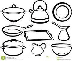 Utensilios de cocina dibujos buscar con google dibujos - Utensilios de cocina para pintar ...
