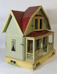 Antique 19thC F.A.O. Shwarz Victorian German Dollhouse & Doll Furniture *NR* | Toys & Hobbies, Vintage & Antique Toys, Other Vintage & Antique Toys | eBay!