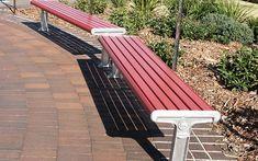 Town & Park SPTP.BTD.A.LF.2000 Metro Flat Bench