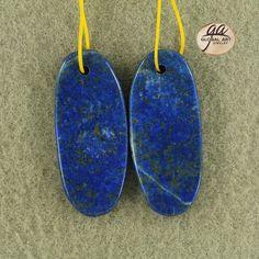 EA15762  Beautiful Lapis Lazuli Earrings Bead by Artiststone