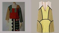   Sophie Tauber-Arp, costume design, 1922 and Marni dress, 2011  