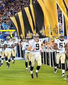 The Saints come marching in! #Saints #nola #whodat