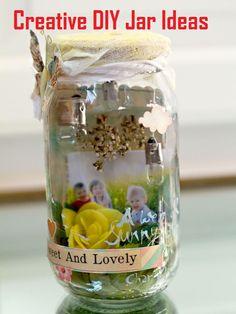 Creative DIY Jar Ideas Tutorials