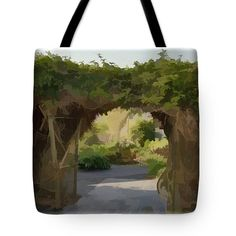 Tote Bags - Archway to Heaven Tote Bag by Pamela Walton