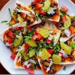 Cheeseburger Nachos with Special Sauce