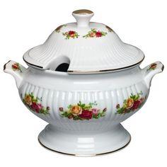 Royal Albert Old Country Roses  via DrSLLB - would love this