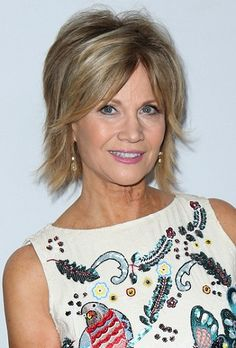 Markie Post-Short Celebrity Haircuts for Women Over 60 l www.sophisticatedallure.com