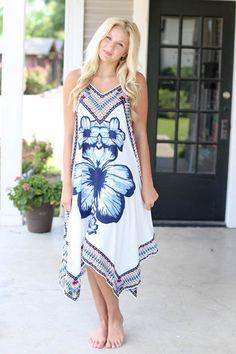 Lani Flower Dress