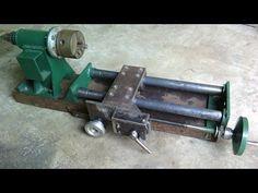 Homemade lathe part 2 - YouTube