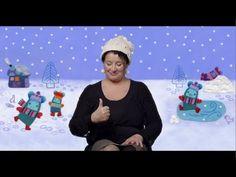 Février 2015: Voilà la neige. Petit pouce dans la neige, Marie Brignone.   Un jeu de doigts original et très sympa, disponible aussi en livre chez Didier jeunesse!