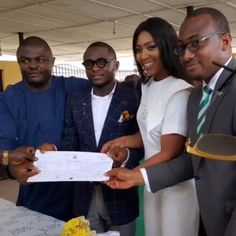 Photos from Registry, As Ubi Franklin & Lilian Esoro Weds Legally Today =>http://wp.me/p64kJc-1gt
