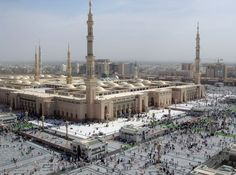 Madjid an-Nabawi (the Prophet's Mosque), Madina, Saudi Arabia