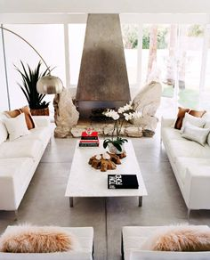 Unknown Source #tomford #fireplace #living