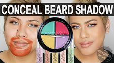 How to Conceal amp Cover Beard Shadow for Crossdressers and Trans Women We get a lot of emails about how to cover beard shadow from crossdressers and trans women so we have written this article which Female Facial Hair, Transgender Tips, Feminized Husband, Feminine Face, Color Correcting Concealer, Drag Queen Makeup, Male To Female Transformation, Make Up Tricks, Makeup Essentials