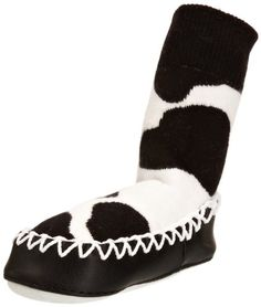 Mocc Ons Unisex Baby Mocc Style Slipper Socks Cow Print 18-24 Months has been published on http://www.discounted-baby-apparel.com/2013/09/11/mocc-ons-unisex-baby-mocc-style-slipper-socks-cow-print-18-24-months/