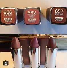 Maybelline Matte lipsticks ..gorgeous