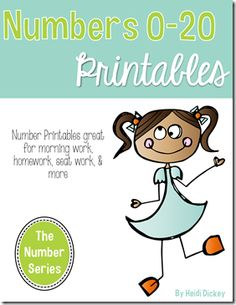 No-Prep Alphabet and Number Printables