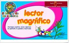 """""""Lector magnífico"""" (Lectura de Lengua Española de 1º y 2º de Primaria)"""