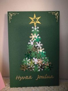 Christmas Cards Ideas 27 If you haven't come up with any ideas of gifts, why not DIY Christmas cards? We've gathered some of the best DIY Christmas cards that are sure to impress your friends and family this season. Christmas Card Crafts, Homemade Christmas Cards, Christmas Cards To Make, Christmas Projects, Christmas Art, Homemade Cards, Handmade Christmas, Holiday Crafts, Christmas Decorations