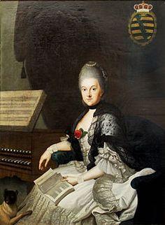 La duquesa ana amalia, quien fundo fuera de su salon la biblioteca