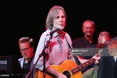 Singer-songwriter, Jackson Browne performs during 2016 D'Addario Foundation 'Music Makes You' benefit to support music education at Bric House on September 22, 2016 in the Brooklyn borough of New York City.