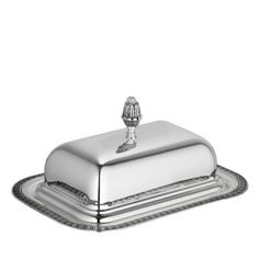Christofle Malmaison Butter Dish | Bloomingdale's
