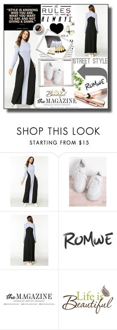 """Romwe 5/11"" by dilruha ❤ liked on Polyvore featuring Fountain and Wall Pops!"