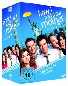 How I Met Your Mother - Season 1-8 Komplettbox (exklusiv bei Amazon.de) [25 DVDs] DVD ~ Josh Radnor, http://www.amazon.de/dp/B00FKUG6ZS/ref=cm_sw_r_pi_dp_2D2etb0KWV10A