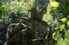 bomarzo - the sacred grove - pegasus