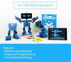 A 3-in-1 educational robot kit for kids age 8 and up. Learning STEM and robotics in a fun way   Crowdfunding es una manera democrática de apoyar las necesidades de recaudación de fondos de tu comunidad. Haz una contribución hoy.
