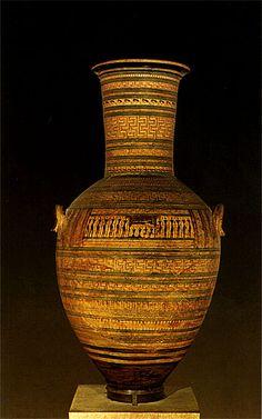 funerary amphora of the master of Dipylon