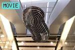 Troika: CLOUD kinetic sculpture at Heathrow  troika.uk.com