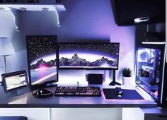 gaming setup Console Vs PC gaming in Here are the 5 main reasons why you need to kill your console and join the PC Master Race today. Best Gaming Setup, Gaming Room Setup, Pc Setup, Gamer Setup, Computer Gaming Room, Computer Desk Setup, Gaming Desktop, Gaming Pcs, Computer Technology