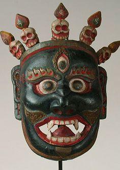Himalayan Mask - Mahakala mask from Tibet