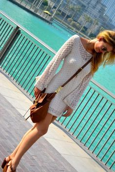 cute boho outfit {cute dress}   # Pin++ for Pinterest #