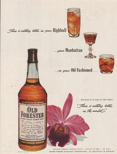 Old Forester, 1953 #bourbon