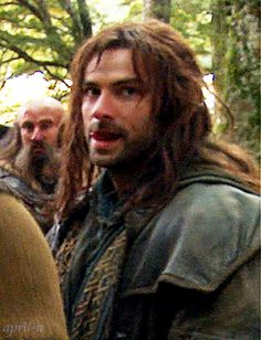 Aidan Turner. Now I know why Snow White loved her dwarves so much!