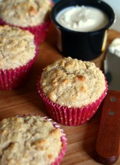 Coconut Oatmeal Muffins - Baking Bites