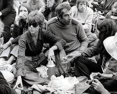 Jane Fonda y Roger Vadim