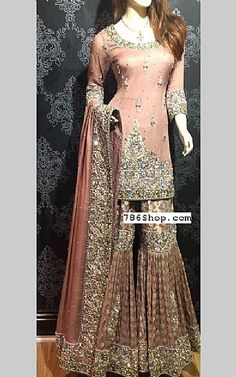 Pakistani dresses online shopping in usa, uk. Pakistani Couture, Pakistani Wedding Dresses, Pakistani Dress Design, Pakistani Outfits, Indian Dresses, Indian Outfits, Pakistani Sharara, Walima, Pakistani Dresses Online Shopping
