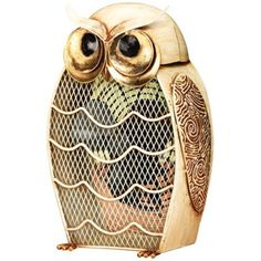 Fan Snow Owl Figurine Decorative Desk Fan | Owl trend