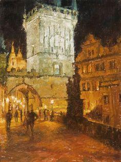 ''Prague at Night'' ‹ Todd Williams