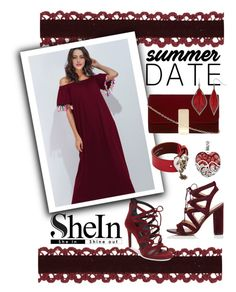 """""""Summer date"""" by andrea-pok ❤ liked on Polyvore featuring Sam Edelman, Kenneth Cole, Alexander McQueen, Lord & Taylor, Dorothy Perkins and Mixit"""