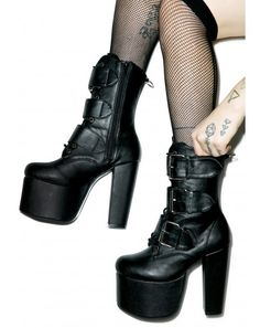 Women's Boots - Thigh/Ankle/Knee High, Lace Up, Platform | Dolls Kill