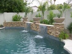 fountains around pools | Waterfeatures and Fountains