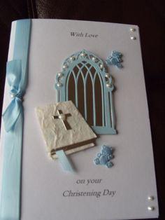 handmade cards verses for baptism - Bing Confirmation Cards, Baptism Cards, Baby Cards, Kids Cards, Sympathy Cards, Greeting Cards, Handmade Cards, Handmade Ideas, Boy Christening