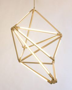 Futuristic Geometric LED Light Structure   DigsDigs barefootstyling.com