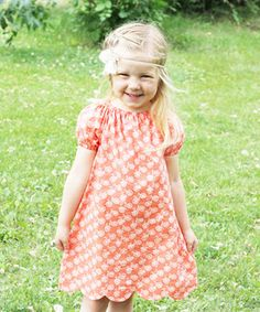 Polly Peasant Dress and Blouse from Sew Much Ado | The best sewing patterns for women, girls, toys and more. Go To Patterns & Co.